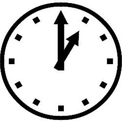 Icône horloge